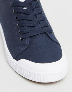 Spring Court G2S 1002 Classic Canvas Midnight Blue Low