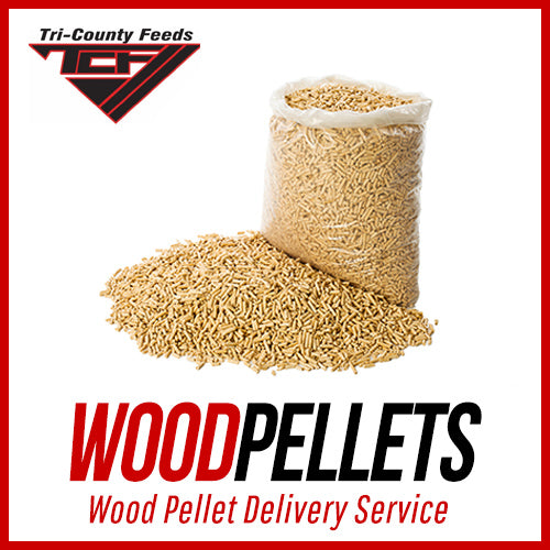 wood pellets delivery