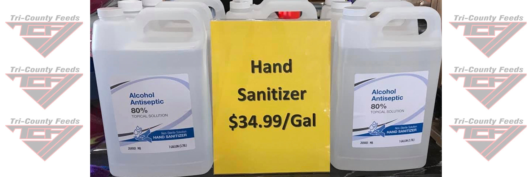hand sanitizer special