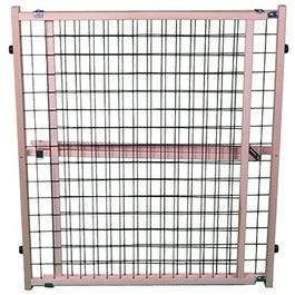 Pet Gate, Wire Mesh, 29.5 to 50 x 32-In.