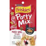 Friskies Party Mix Mixed Grill Crunch Cat Treats