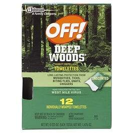 Deep Woods Towelettes, 12-Ct.