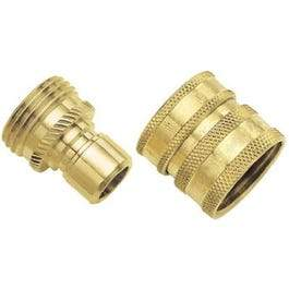 Brass Quick Connector Set
