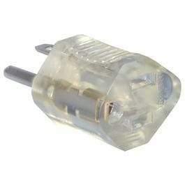 Clear Lighted-End Grounding Adapter