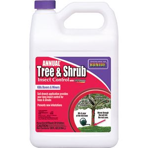 BONIDE ANNUAL TREE & SHRUB INSECT CONTROL CONCENTRATE 1 GAL