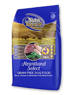 NutriSource Heartland Select Grain Free All Life Stages Dog Food