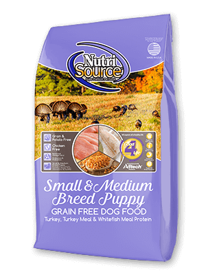 NutriSource Small/Medium Breed Grain Free Puppy Food