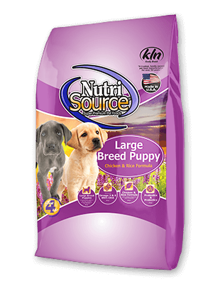 NutriSource Large Breed Chicken and Rice Puppy Food