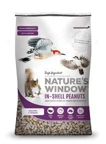 Nature's Window In Shell Peanuts Bird Seed