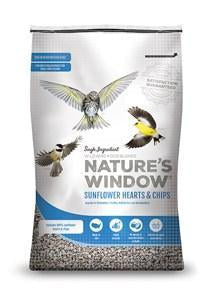 Nature's Window Sunflower Hearts & Chips Bird Seed