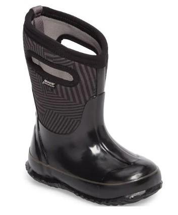 Bogs Classic Phaser Black Multi Kids' Boots