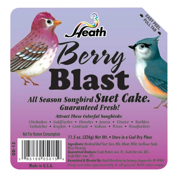 HEATH BERRY BLAST SUET CAKE