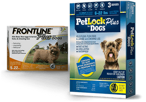 PetLock Plus for Dogs 6-22 lbs