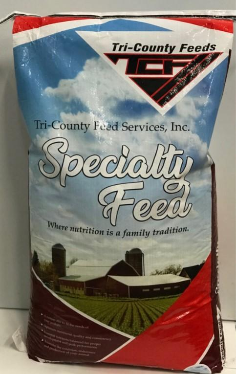 TRI-COUNTY FEED SERVICE 18% PERFORMANCE RABBIT PELLETS