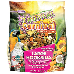 TROPICAL CARNIVAL GOURMET LARGE HOOKBILL FOOD