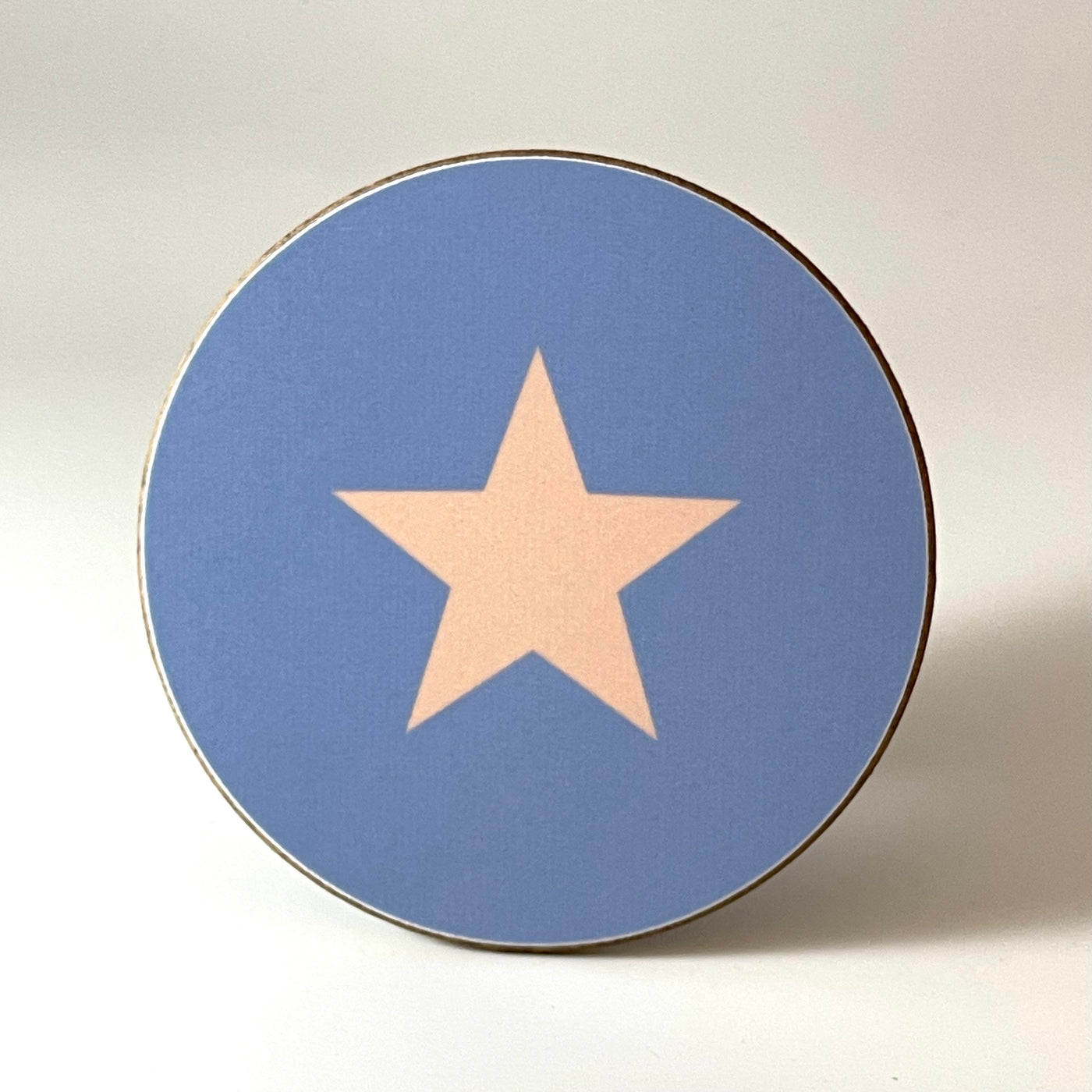 Lilac and Pink Star Coaster