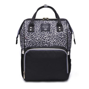 Animal Print Nappy Backpack