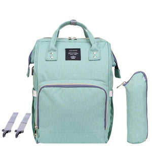 Light Green Nappy Backpack