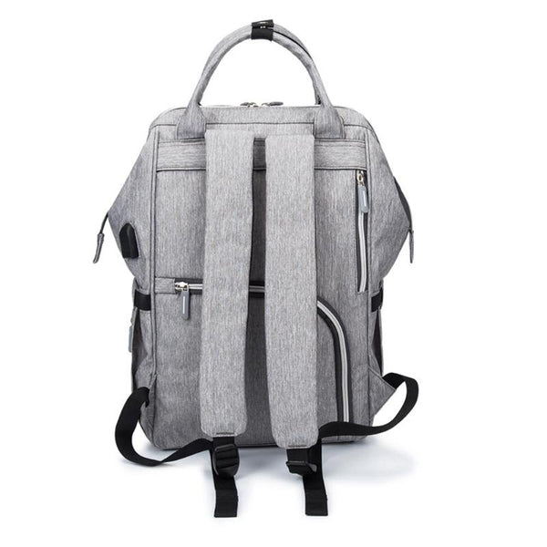 Grey Nappy Backpack (4 Piece)