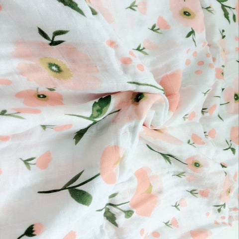 Floral Princess Swaddle (100% Bamboo)