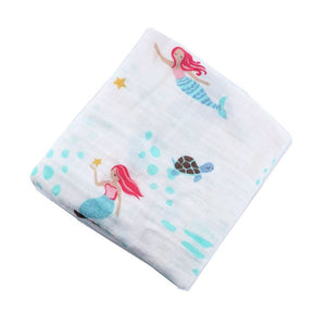 Mermaid Dreams Swaddle (100% Bamboo)