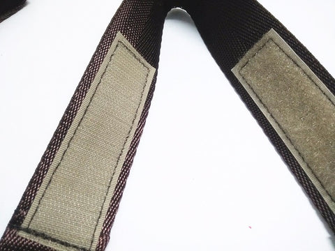 Image of Stroller Straps (Black and Brown),,CIAMBI,CIAMBI diaper bag, nappy bag, change bag