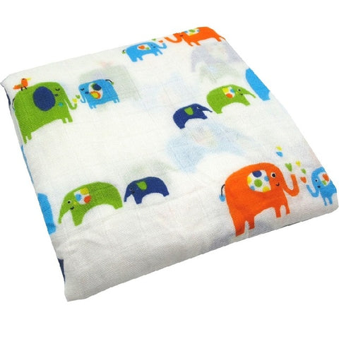 Ele-friends Swaddle (100% Bamboo)