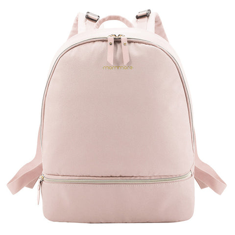 Blush Canvas Nappy Backpack,,Mommore,CIAMBI diaper bag, nappy bag, change bag
