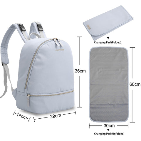 Cloud Canvas Backpack,,Mommore,CIAMBI diaper bag, nappy bag, change bag