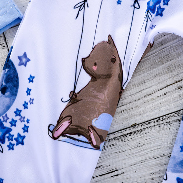 Little Bear Blue Baby Bag Set