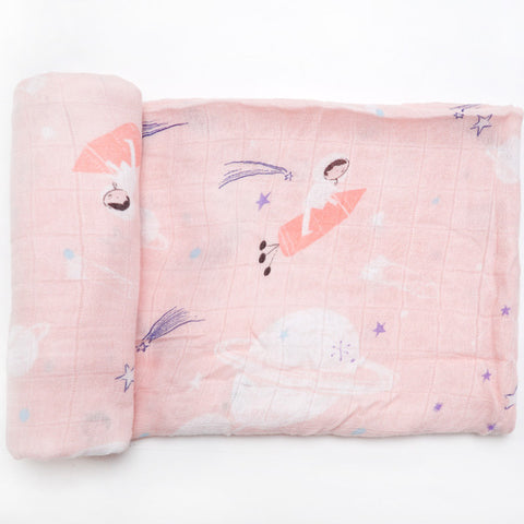 Princess Astronaut Swaddle (100% Bamboo)
