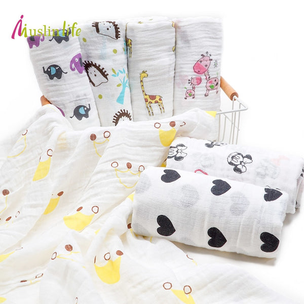 Giraff'n Around Swaddle (100% Organic Cotton)