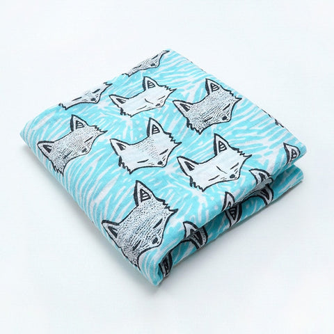 Fox Zen Swaddle (100% Cotton)