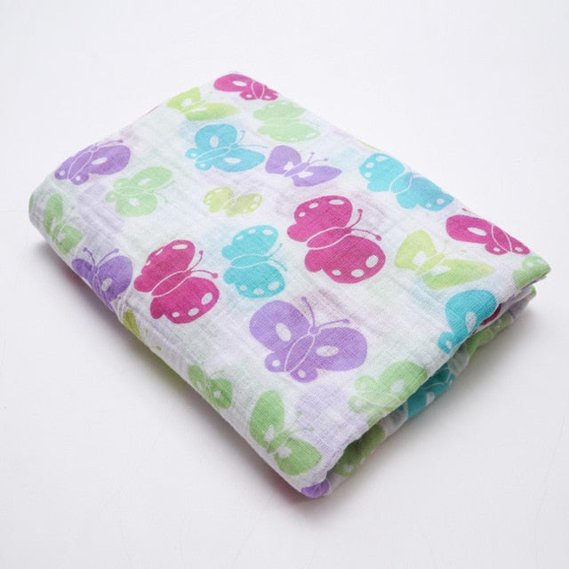 Butterfly Swaddle (100% Organic Cotton)