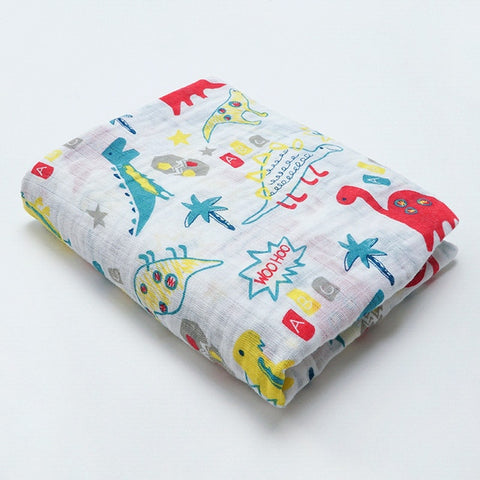 A Million Years Ago Dino Swaddle (100% Organic Cotton)