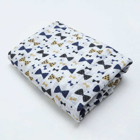 Bow Tie Swaddle (100% Organic Cotton)