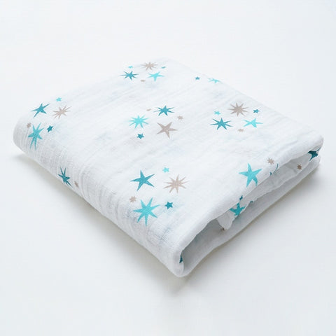 Starry Eyes Blue (100% Cotton)