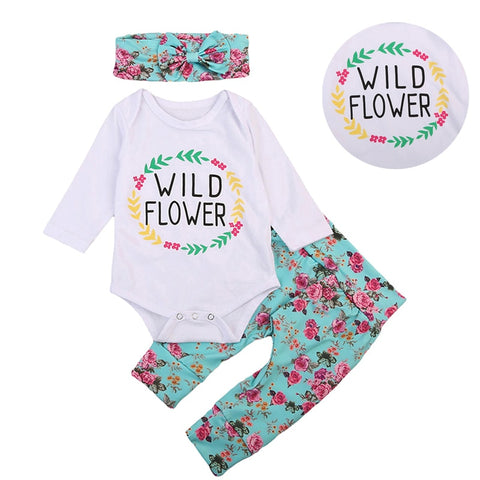Wild Flower 3 Piece Set