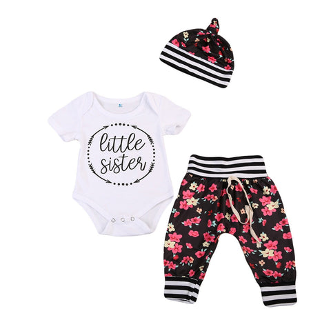 Little Sister Set (Black + Pink)