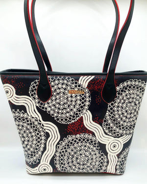 Red/Black Hand Bag