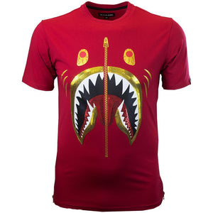 M106 MAKOBI SHARKO TEE - RED - Yabu Fashion