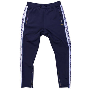 M2799 MAKOBI ROYALTY TRACK PANTS - NAVY - Yabu Fashion