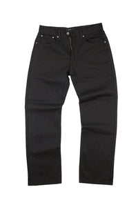 V1761 VENO RAW DENIM JEANS - DEEP BROWN - Yabu Fashion