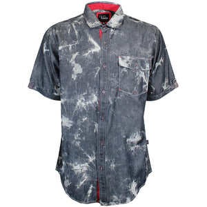 V448 TIE DYE CHAMBRAY SHIRT - Yabu Fashion