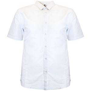 V900 VENO POLY SOLID SHIRT - WHITE - Yabu Fashion