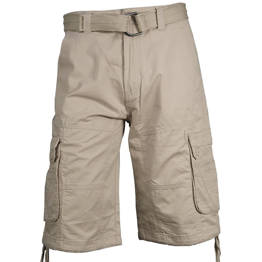 V776 FASHION TWILL CARGO SHORTS - Yabu Fashion