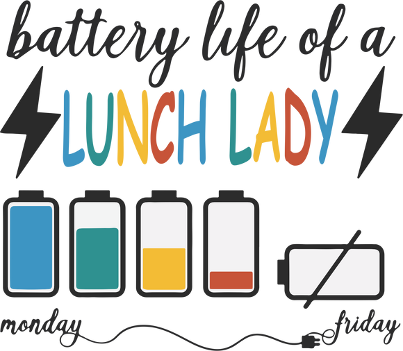 Battery Life-Lunch Lady
