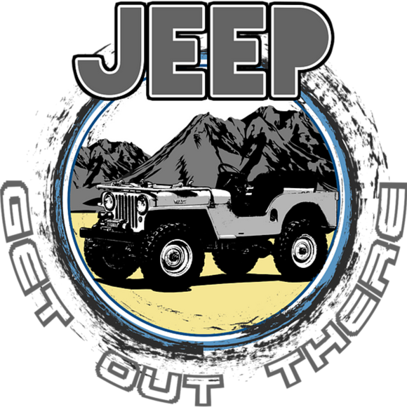 Jeep, Get Out ThereDesign Transfer