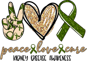 Peace, Love Kidney Disease