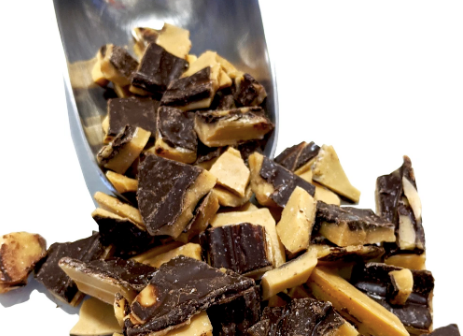 Keto Chocolate Toffee Brittle - Sweet Smith Candy Co